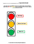 anger management stoplight
