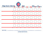 chicago cubs behavior chart