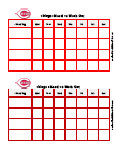 cincinatti reds behavior chart