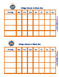 new york mets  behavior chart