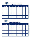 san diego padres behavior chart