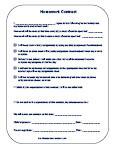Printable Behavior Contracts