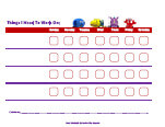 disney jr. behavior chart