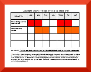 Example Behavior Charts, How To Use Behavior Charts, Free Behavior ...