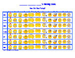 photograph about Printable Feelings Charts identify Belief Charts, Thoughts Chart, Emotions Charts