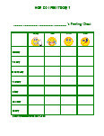 Feeling Charts, Feelings Chart, Free Behavior Charts