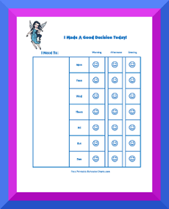 picture about Free Printable Behavior Charts named Practices Charts for Young children