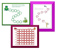 photograph relating to Free Printable Sticker Charts titled Cost-free Printable Patterns Charts for Small children Formal Web page