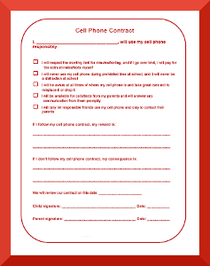 Slobbery image intended for behavior contract printable