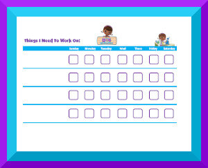 photograph regarding Printable Doc Mcstuffins identify Disney Jr. Printable Practices Charts
