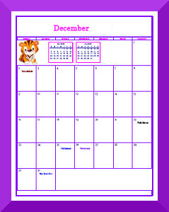 image relating to Disney Printable Calendar named Printable Calendar Internet pages for Children Free of charge Printable Practices