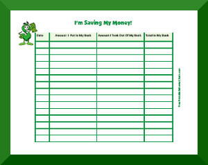 picture relating to Printable Money Saving Charts titled Price savings Charts