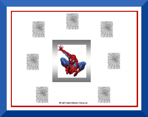 spiderman behavior chart