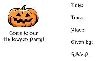 halloween invitation - Halloween Birthday Invitations Printable