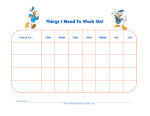 mickey mouse clubhouse behavior chart