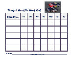 nascar behavior chart