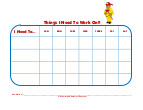 fireman behavior charts