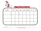 cat in the hat with mask behavior chart