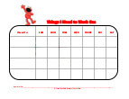 elmo with mask behavior chart