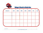 spiderman with mask behavior chart