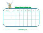 tinkerbell with mask behavior chart
