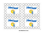 printable punch cards